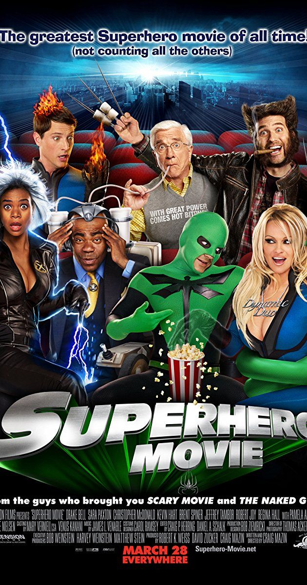 Directed By Craig Mazin With Drake Bell Leslie Nielsen Sara Paxton Christopher Mcdonald Orphaned High School Stud Superhero Movies Drake Bell Sara Paxton