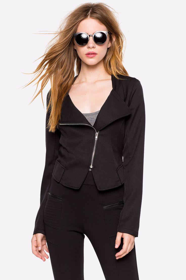 Куртка Размеры: S, M, L Цвет: черный Цена: 2346 руб.  #одежда #женщинам #куртки #коопт