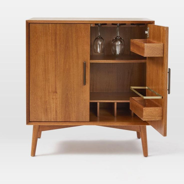 Retro Tv Units Uk Part - 49: Mid-Century Bar Cabinet - Small | West Elm UK