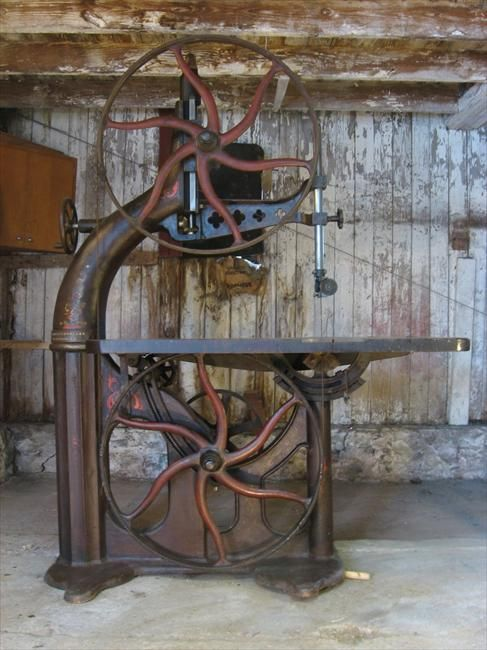 Photo Index - Connell & Dengler Machine Co. - Band Saw | VintageMachinery.org