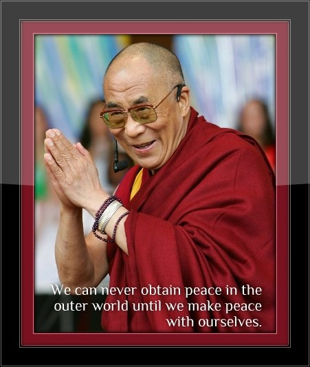 essays on peace dalai lama Essays on dalai lama the dalai lama is one of his non- violent opposition to chinese rule in tibet earned him the noble peace prize in 1989 the dalai lama.