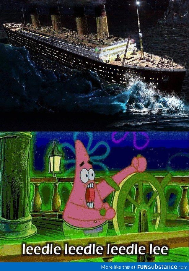 Everything's funnier with patrick star