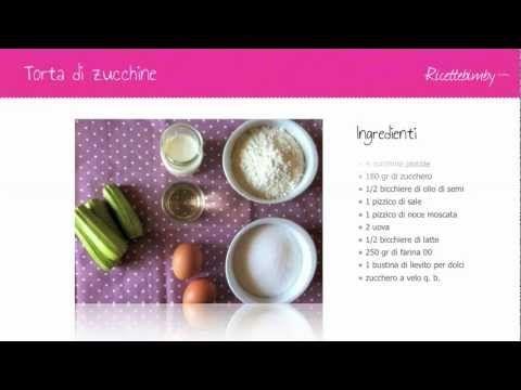 Torta di zucchine Bimby