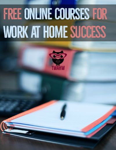 Great list of free online courses that can help you work from home