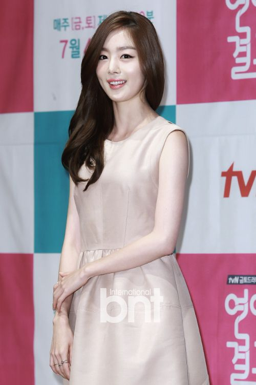 """[2014.06.26] Secret's Han Sun Hwa at the """"Marriage, Not Dating"""" press conference"""