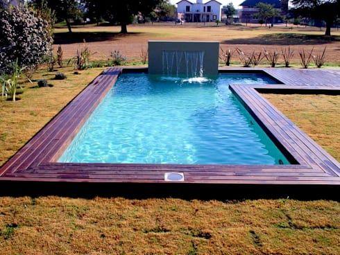 Las 25 mejores ideas sobre piscinas de nivel del suelo en for Piscinas sobre suelo