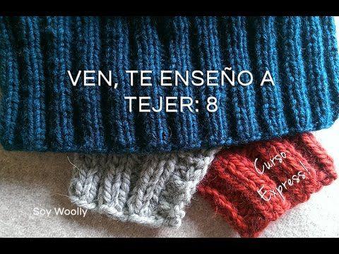 Tutorial #144: Cómo tejer un Poncho a Dos Agujas y Crochet | CTejidas [Crochet y Dos Agujas]