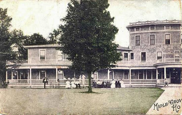 maple grove springs hotel left side historical