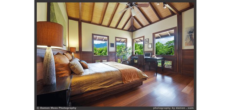 Spacious bedroom with a beautiful nature view! Interior Design Projects by TAG
