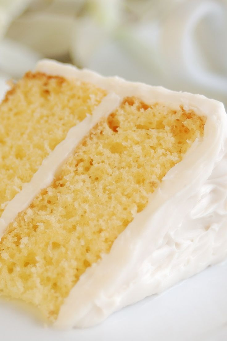 Old Fashioned Yellow Butter Cake Recipe
