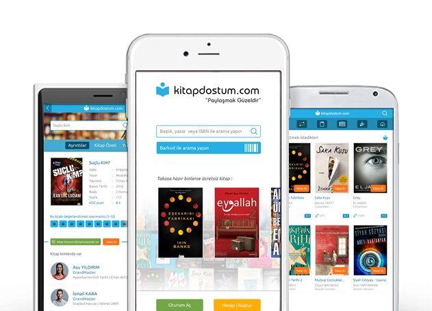 Kitap Dostum Mobil Uygulaması, Ücretsiz Kargoyla Kitap Takası!