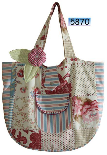 Bolsa De Tecido Artesanal : Melhores ideias sobre sacolas de retalhos no