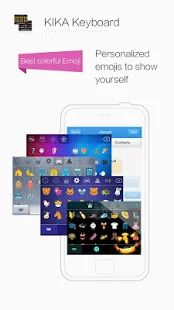 Kika Keyboard - Emoji Keyboard - screenshot thumbnail