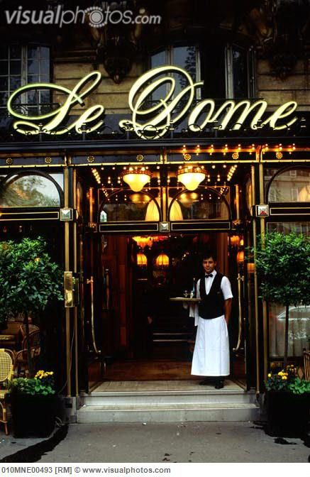 Le Dome - Paris~ fabulous Brasserie in Montparnasse.   ᘡղbᘠ