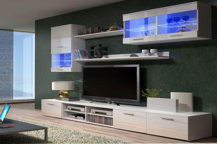mueble de saln de diseo modelo claudia 3 visita httpwwwmueblesbonitoscommueble de salon claudia blancohtml para conocer sus materiales a