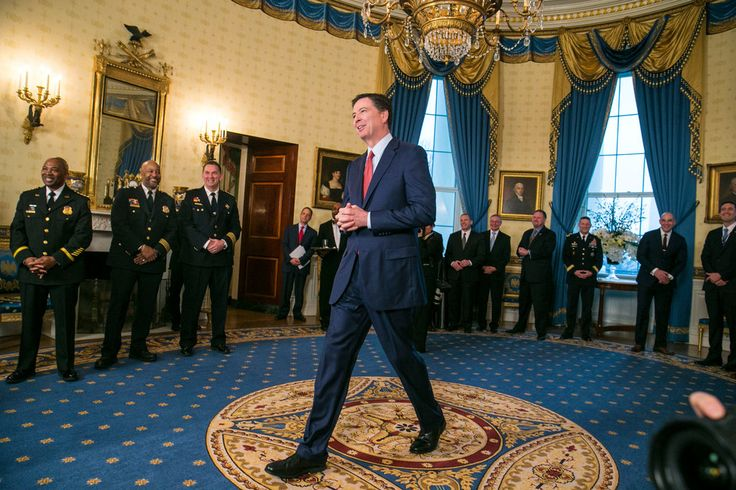 Unsurprisingly - Trump has decided to retain James Comey as head of the FBI (the agency that is leading an inquiry into ties between Trump associates and Russia's government.)