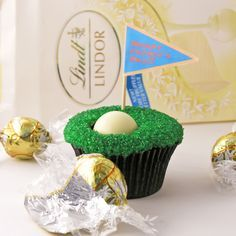 Golf Cupcakes!! Awesome idea!!!