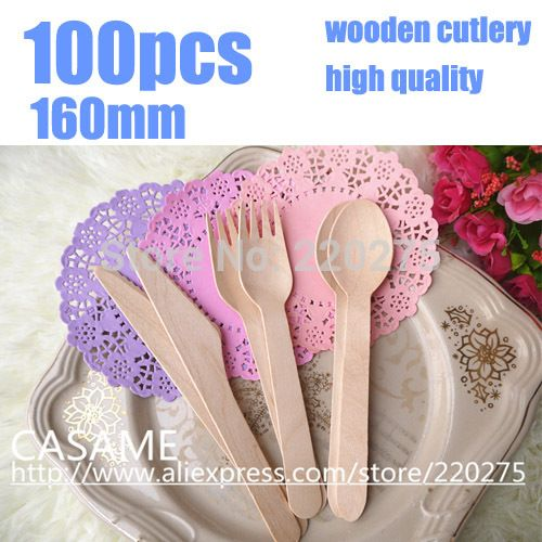 Cheap fork picture, Buy Quality cutlery holder directly from China cutlery cheap Suppliers: 160mm disposable cutlery Wood party Cutlery Picnic Cutlery high quality Wedding  disposable wooden party cutlery  spoons