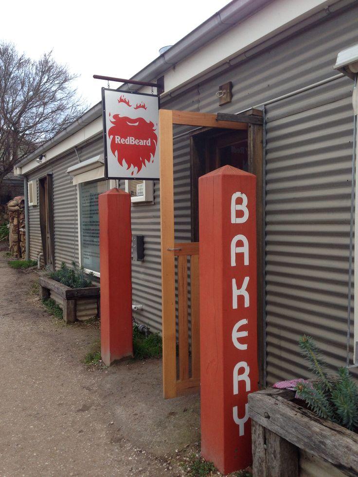 Red Beard Bakery, Trentham, Victoria. Amazing food, coffee, hot chocolate in a beautiful country town! #redbeardbakery