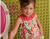 Circle-Top Shirt PDF Pattern, Baby, Toddler Girl newborn to 5T. $7.95, via Etsy.ecerythingnicesewing