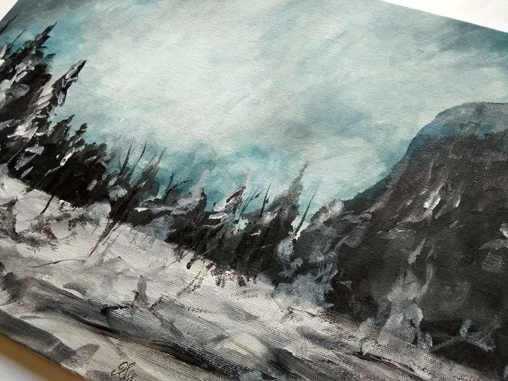 Acrylic Painting, Handmade, Gift, Wall Hanging, Home Decor, Landscape, Nature