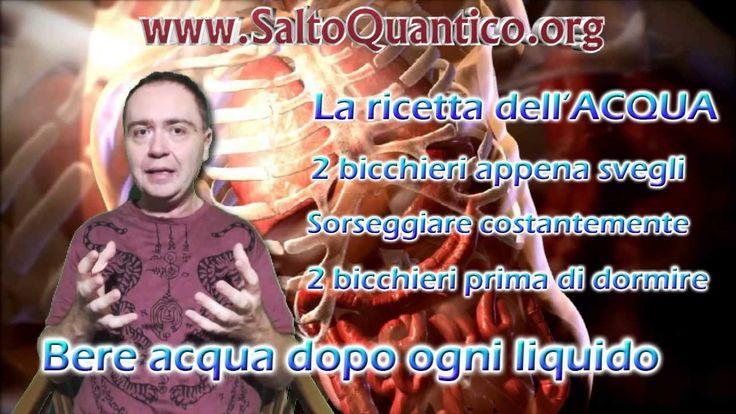 """La """"Ricetta"""" dell'acqua - Salto Quantico - CORPO - Cap. C2 - Formazione ..."""