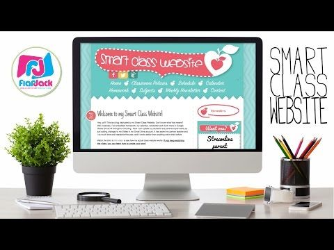 Smart Class Website - How to Embed Google Slides & Calendar in your Website - YouTube