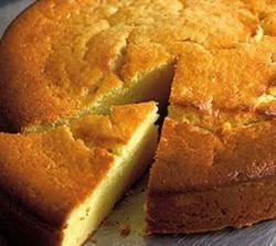 Recept voor Italiaans nagerecht, cake met limoen en ricotta, uit Italiean Inspiration.