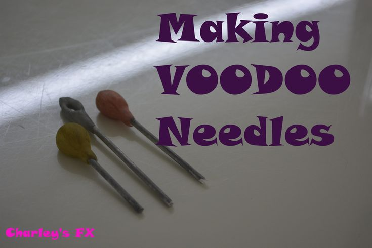 How to make VooDoo Needles tutorial
