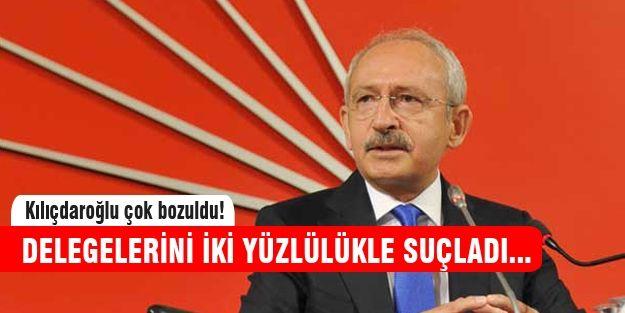 Kemal Kılıçdaroğlu'ndan delegelerine ağır sözler http://www.haberinadresi.com/
