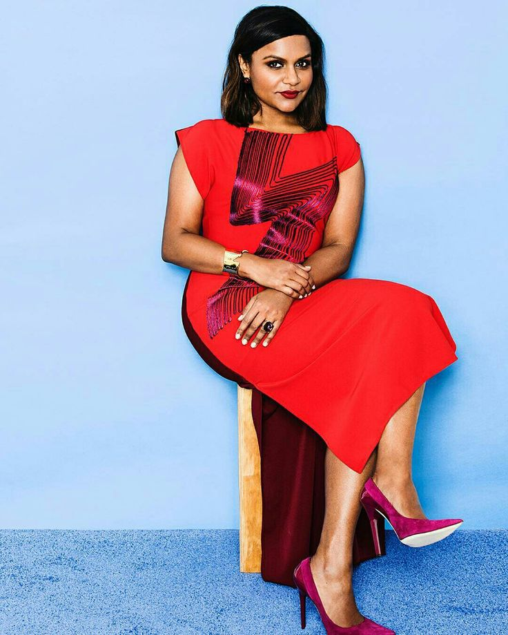 incredible COLOR in portraits - style guide for goldenlight creative  for the dallas photoshoot Mindy Kaling