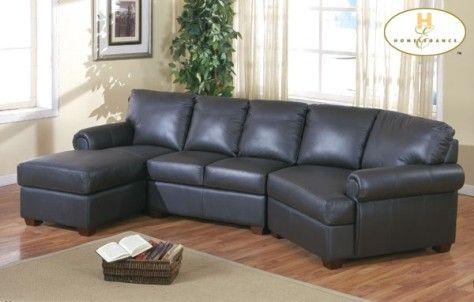 Leather Sectional Sofas | Sofa-A.com