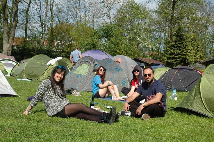 Camping Vliegenbos in Amsterdam, Noord-Holland