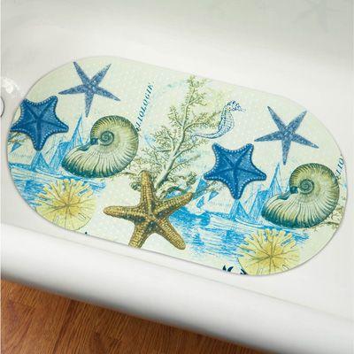 Antigua Ocean Seashell Bathtub Mat