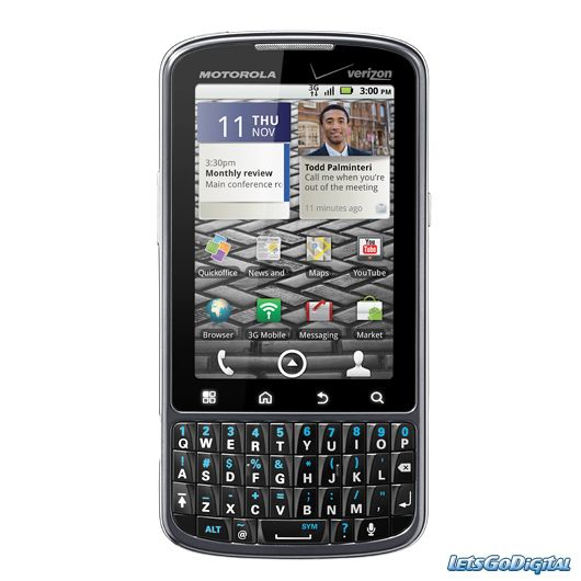 Made the jump to Android as well as the change from Tmobile to Verizon.  I pay way more now with Verizon unfortunately.  Only Android phone I found that had a keyboard on the front.  Good phone, but i'm already ready to upgrade but can't for a while.