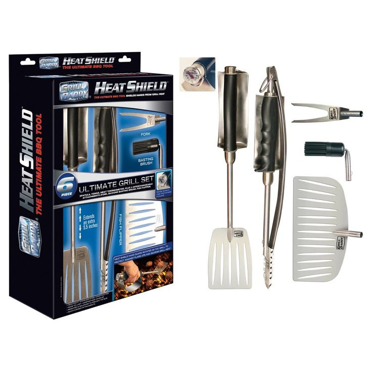 Grill Tool Set Grill Daddy 3.5 ea Multicolor,