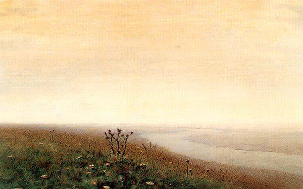 Morning on the Dnieper 1881 | Arkhip Kuinji | oil painting #russianpaintings