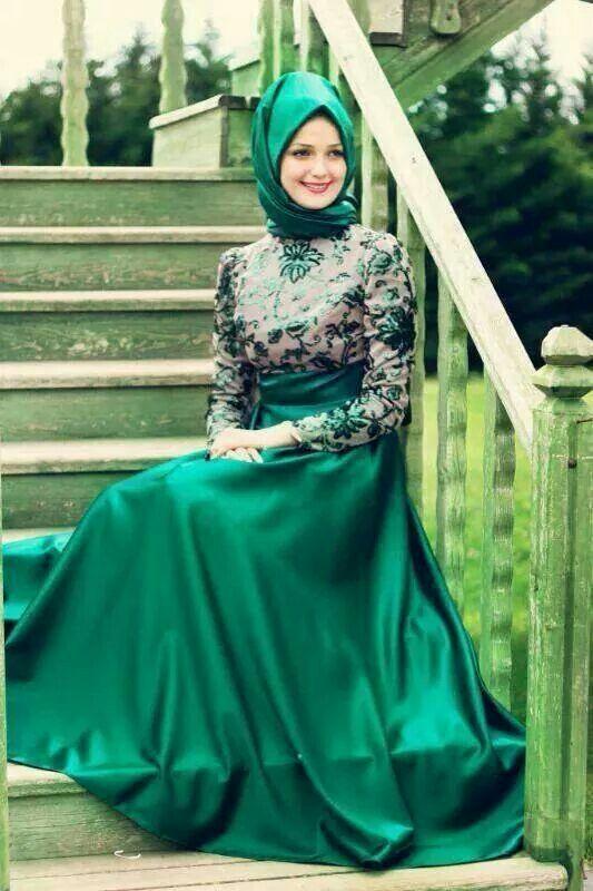 Model Baju Pesta 2016 Muslimah