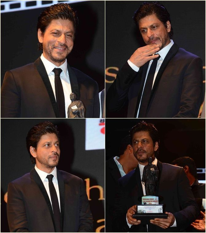 The Many Moods of Shah Rukh Khan at Dadasaheb Phalke Awards: Pics - India West: Bollywood