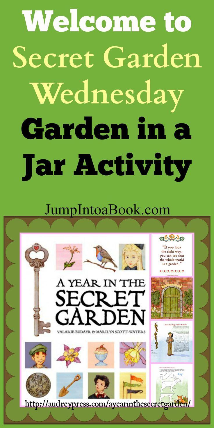 Secret Garden Wednesday-Garden in a Jar