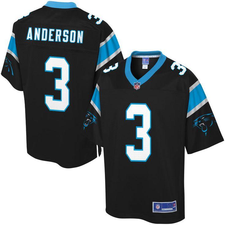 NFL Pro Line Men's Carolina Panthers Derek Anderson Team Color Jersey