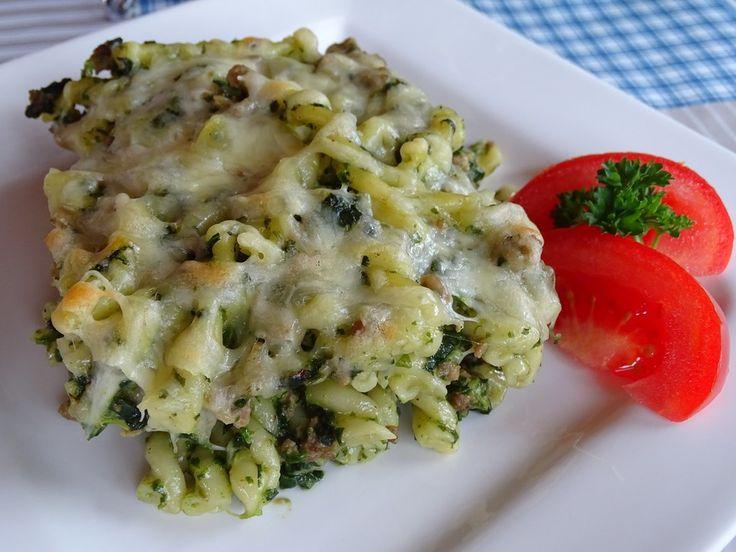 Spinat - Nudel - Auflauf (Rezept mit Bild) von Chester24 | Chefkoch.de