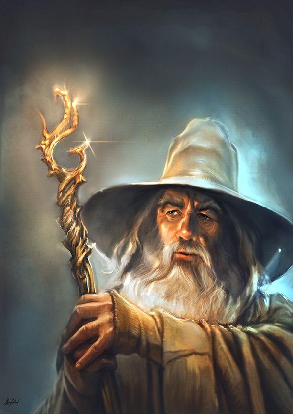 Gandalf the Grey by ArtofOkan on DeviantArt