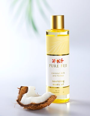 Pure Fiji Coconut milk and honey body oil