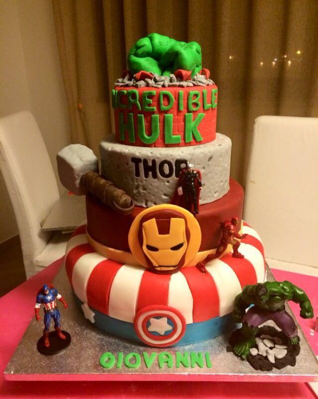 Torta avengers