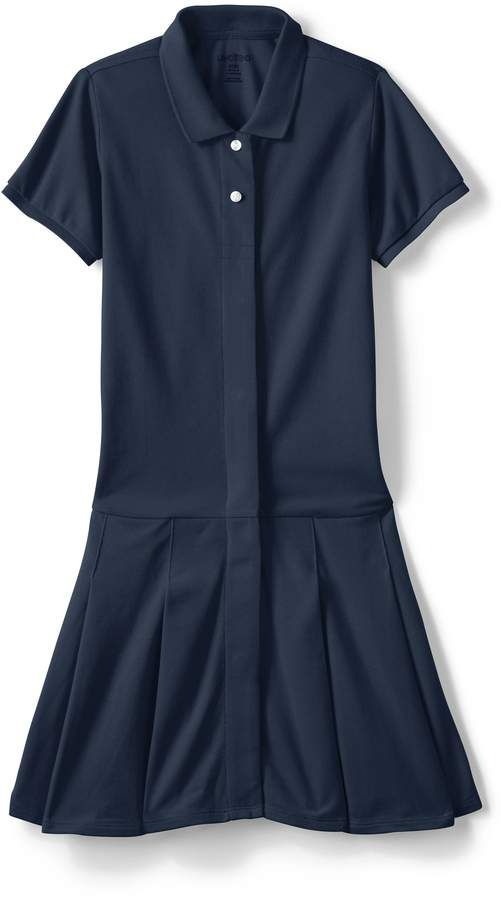 e702166471c5 Lands'end School Uniform Girls Adaptive Mesh Polo Dress #Mesh #favorite#comfortable