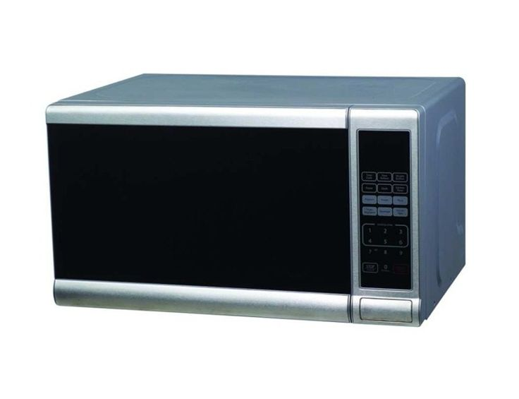 0.7 Cu Ft Stainless Steel Microwave Oven 17w x 10h x 12.75D