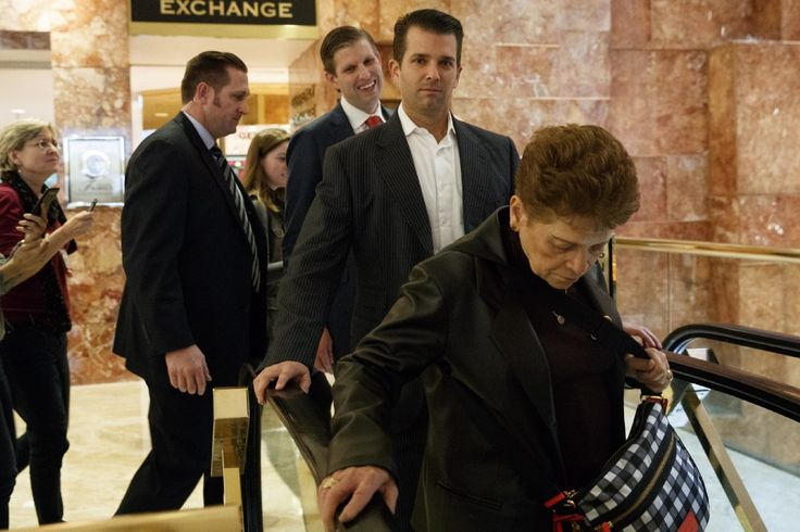 While running Trump's business, Trump's sons talk political strategy with GOPleaders