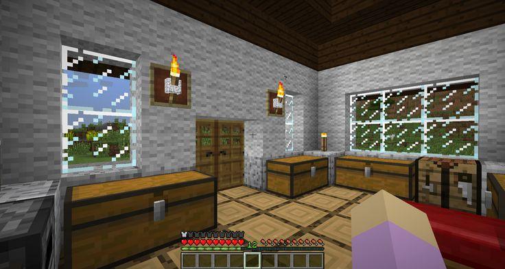 Lizc864 minecraft cottage w polished diorite base