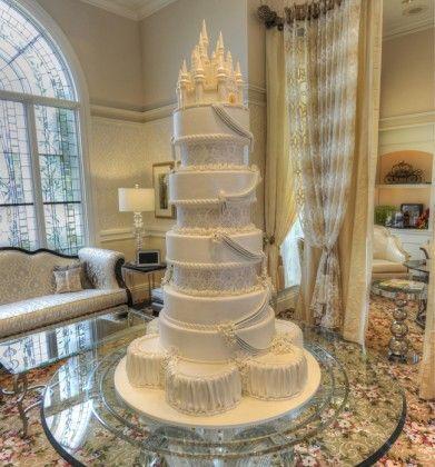 Disney wedding cake